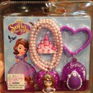 Disney Sofai the first children digitial necklace watch and beauty chian set new