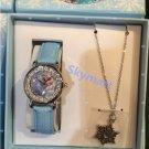 Disney Frozen children watch and necklace set new