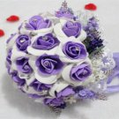 Purple Hand Tied Bouquet