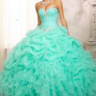 Sweetheart Crystal Prom Dress