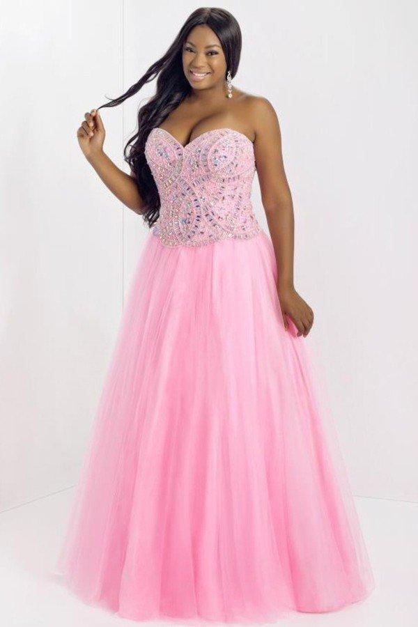 Sweetheart Beaded Prom Dress