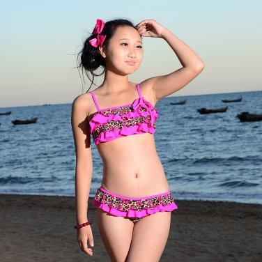 Girls Polka Dot Bikini