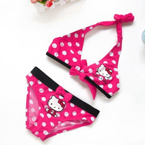 Hello Kitty Polka Dot Bikini