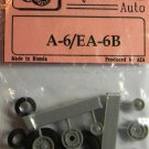 EQB72051 Equipage 1/72 Rubber Wheels for Grumman A-6 Intruder / EA-6B Prowler