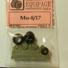 EQG72099 Equipage 1/72 Rubber Wheels for Mil Mi-8 and Mi-17 Russian Helicopters