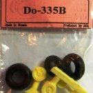 EQA72063 Equipage 1/72 Rubber Wheels forDornier Do-335B