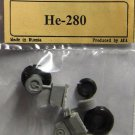 EQA72057 Equipage 1/72 Rubber Wheels for Heinkel He-280