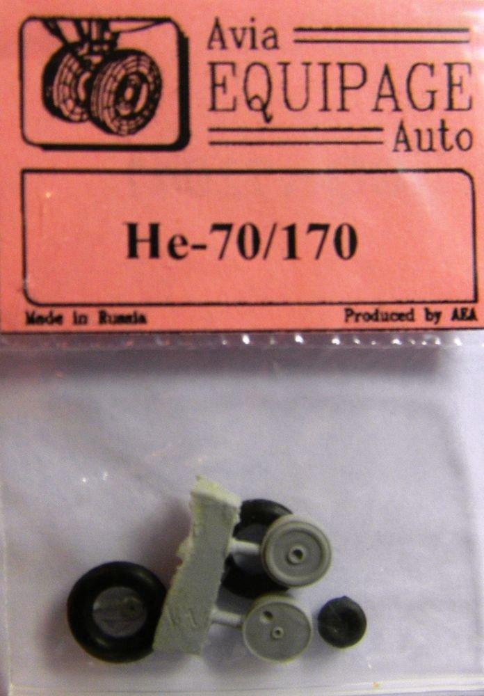 EQA72047 Equipage 1/72 Rubber Wheels forHeinkel He-70 / He-170