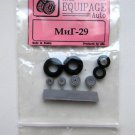 EQG72031 Equipage 1/72 Rubber Wheels for Mikoyan MiG-29 Fulcrum Jet Fighter