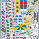 BGM-48012 Begemot decals 1/48 Mikoyan MiG-29 Fulcrum Jet Fighter (Part 1)