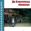 AKL-201106 AviaCollection / AviaKollektsia N6 2011: De Havilland DH.100 Vampire