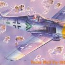 C-12 MasterCraft 1/72 Focke-Wulf FW-190F-8 German WW2 Fighter model kit