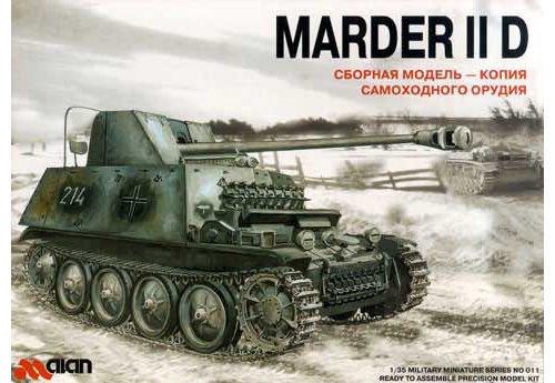 ALA-011 Alan 1/35 Marder IID model kit
