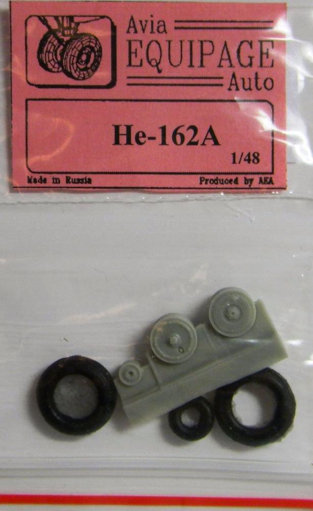 EQA48054 Equipage 1/48 Rubber Wheels forHeinkel He-162A