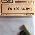 EQA72026 Equipage 1/72 Rubber Wheels forFocke-Wulf FW-190A5 (trop)
