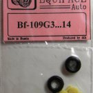 EQA72004 Equipage 1/72 Rubber Wheels for Messerschmitt Bf-109G-3 … to Bf-109G-14