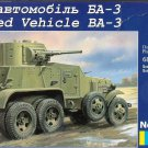 UMD-320 UM 1/72 BA-3 Soviet WW2 Armoured Car model kit