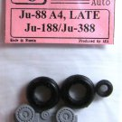 EQA72041 Equipage 1/72 Rubber Wheels for Junkers Ju-88 late / Ju-188 / Ju-388