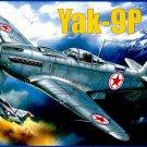 AMO-7286 1/72 Yakovlev Yak-9P Soviet WW2 and Korean War Fighter model kit