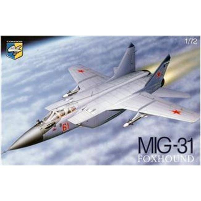 CND-72009 Condor 1/72 Mikoyan MiG-31B Jet Fighter model kit
