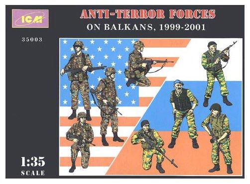 ICM-35003 ICM 1/35 Anti-terror forces on Balkans, 1999 - 2001 (8 figures) model