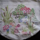 country cottage dresser scarf table runner