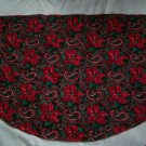 christmas tree skirt poinsettia mantel scarf handmade