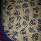 christmas tree skirt mantel scarf teddy bears and presents handmade