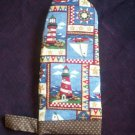 handmade oven mitt sea side light houses
