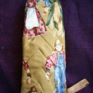 oven mitt Mr and Mrs scarcrows and corn stocks handmade