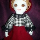 handmade prairie doll a best friend one of a kind doll 19 inches tall