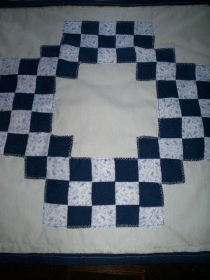 doudle irish chain dresser scarf table cloth all handcrafted 19 inches by 19 inches handmade