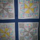preemie quilt handmade combo block 31 by 31 inches