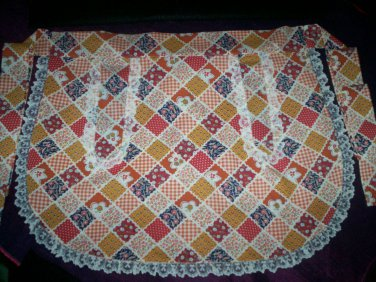 apron country fabric handcrafted