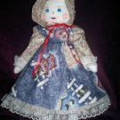 handmade cuddle up cutie doll 21 inches tall