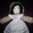 little girl country doll 21 inches tall handmade
