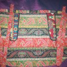 apron one size fits all hippy paisley fabric handcrafted treasure