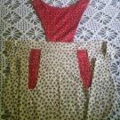 apron cherry blossom's to cherry's handmade
