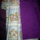 teddy bear dress with purple jacket teddy bear lining handmade