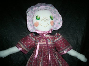 pioneer doll one of a kind 22 inches tall handmade