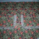 apron wild rose and grapes handmade