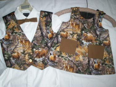 brother sister matching outfits the great outdoor wild life  handmade