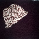 preemie crochet blanket plus 1 knitted winter hat handmade