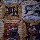 handmade lap quilt life on the farm 61 x 46 less than tradition throw