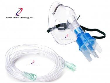 New Infused Medical Aerosol Mask & Nebulizer (Reusable)