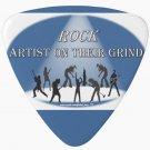 ROCK Artist On Their Grind Custom Guitar Pick