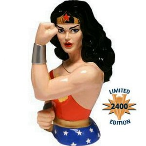 Wonder Woman Limited Edition Bust Cookie Jar - Brand New