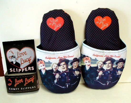 I Love Lucy Slippers - One Size Fits Most - Brand New