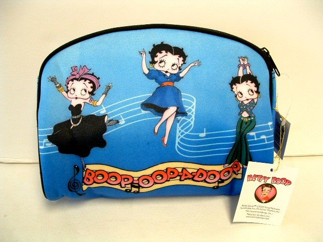 Betty Boop Cosmetic Tote - Brand New w/Tags
