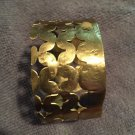 Hand Crafted Brass Bracelet Cuff